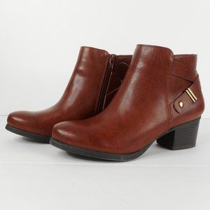 Naturalizer Soul Ankle Boots US 7 M Brown New